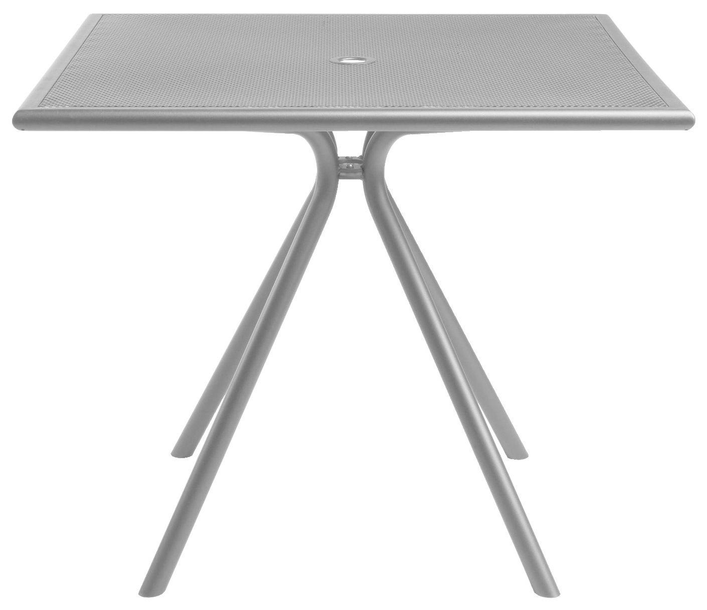 Table De Jardin Solid 80 X 80 Cm Aluminium Emu