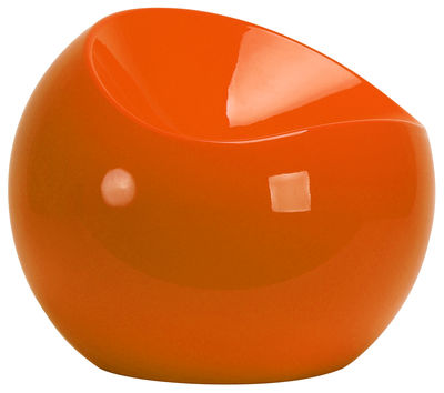 ball chair pouf orange by xl boom. Black Bedroom Furniture Sets. Home Design Ideas