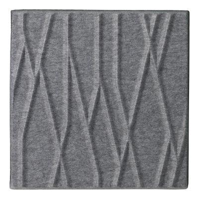 Foto Pannello acustico a muro Soundwave Botanic di Offecct - Grigio chiaro - Tessuto