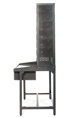 Bureau casier de tri meuble de rangement acier brut for Mobilier bureau 44