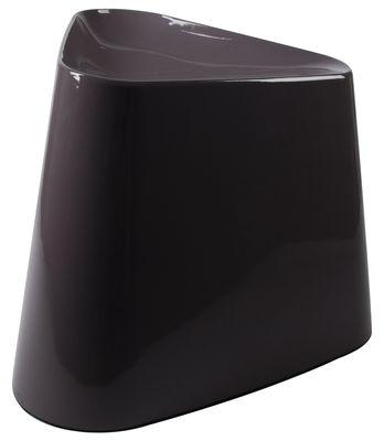 Tabouret tribe chair plastique gris lilas xl boom - Semaine du mobilier chez made in design jusqua ...