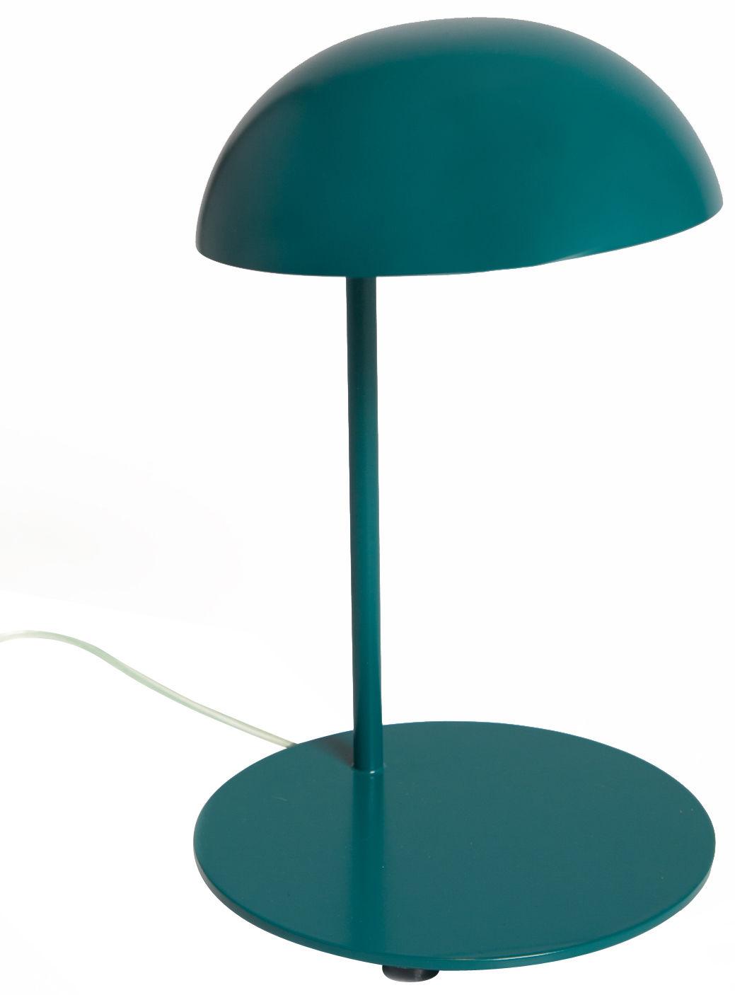 lampe de table pokko led bleu p trole gallery s bensimon