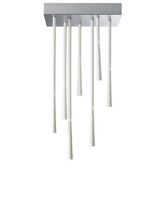 Image of Plafonnier Giunco LED / H 50 cm - Fabbian Blanc