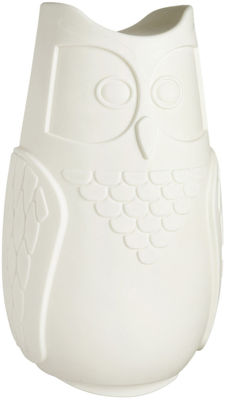 Image of Veilleuse Baby Bubo H 12,5 cm / LED - Slide Blanc