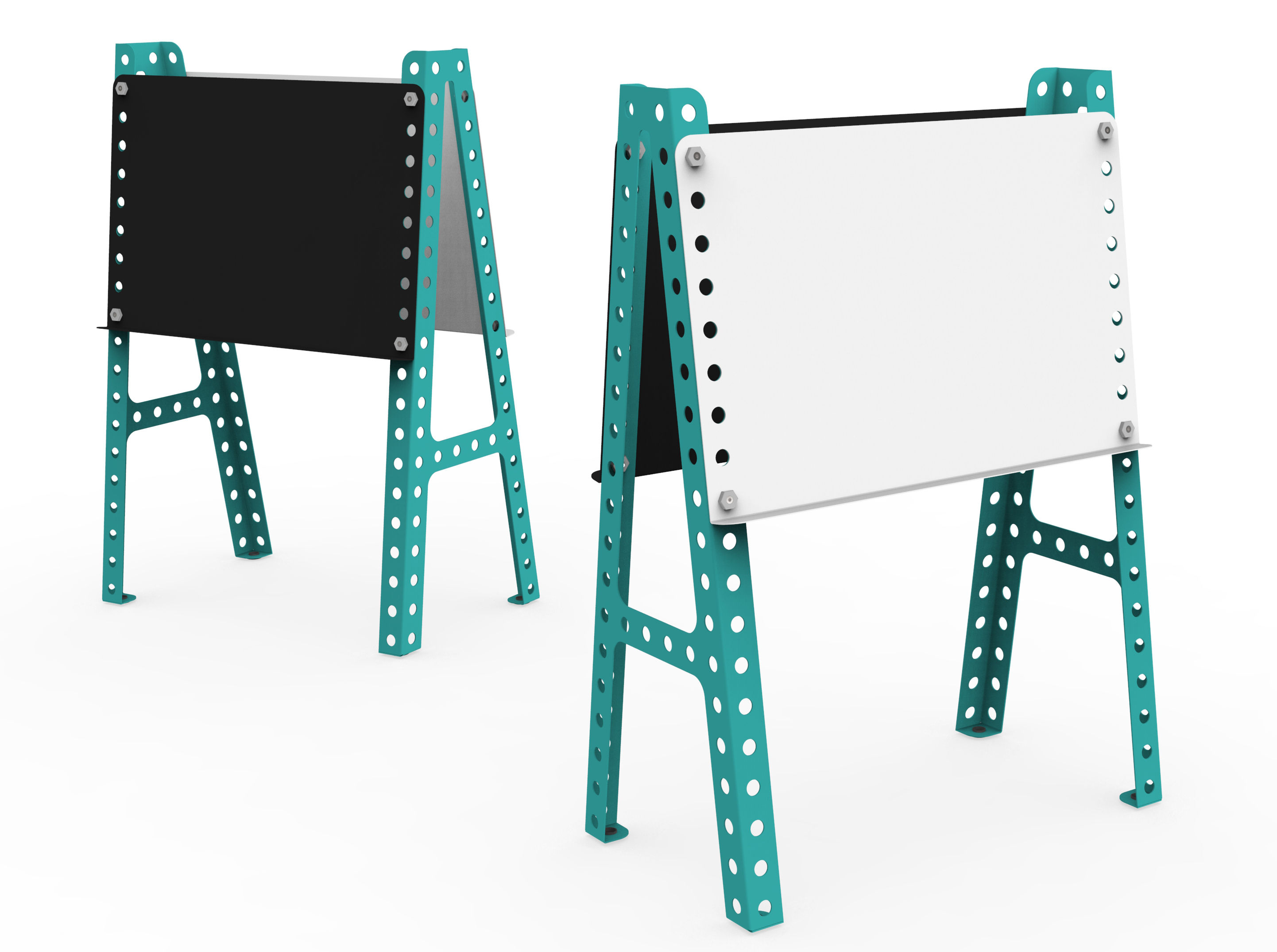 tableau enfant ardoise tableau blanc turquoise meccano home. Black Bedroom Furniture Sets. Home Design Ideas