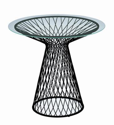Foto tavolo da giardino Heaven - Ø 80 cm di Emu - Nero - Metallo