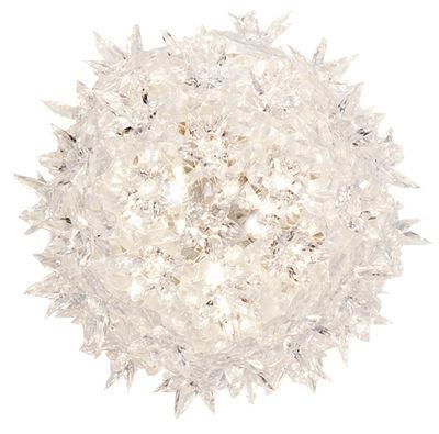 Foto Applique Bloom di Kartell - Bianco - Materiale plastico