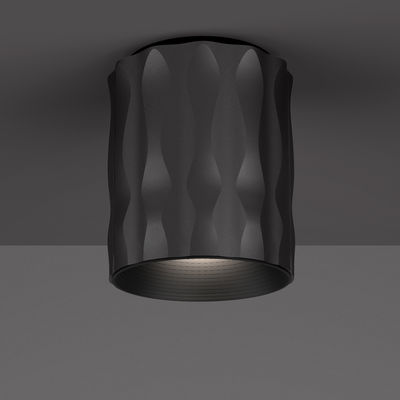 Foto Plafoniera Fiamma / LED - H 16 cm - Artemide - Nero - Metallo