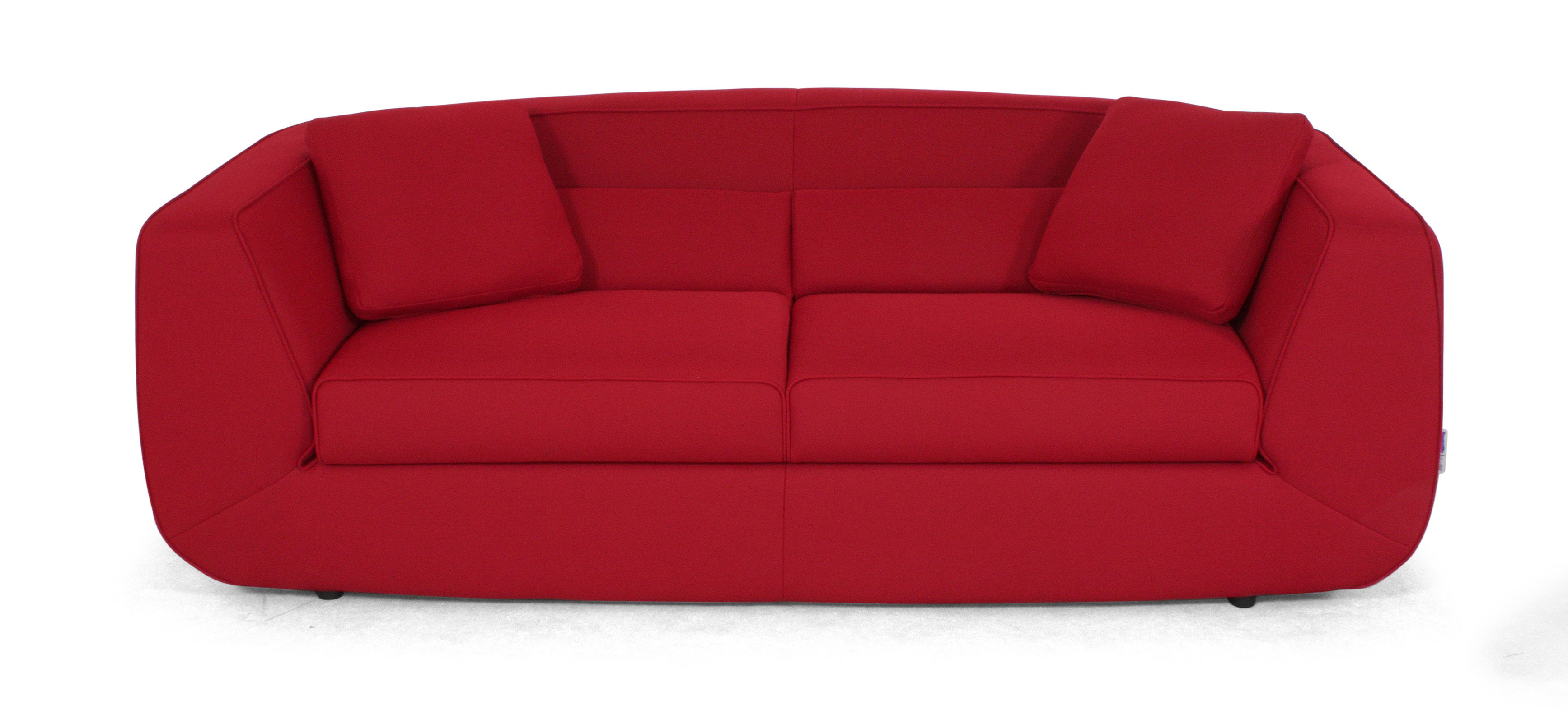 Canap convertible bump xl by ora ito 3 places l 238 cm rouge rouge d - Canape dunlopillo convertible ...