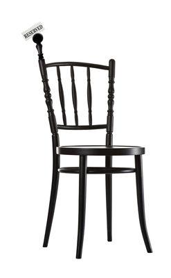 Foto Accessorio - portacarte intercambiabile per la sedia Extension Chair di Moooi - Nero - Legno