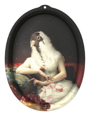 Foto Piano/vassoio Le Boudoir - Rosita - Cornice di Ibride - Multicolore - Materiale plastico