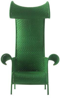 Poltrona Shadowy di Moroso - Verde - Materiale plastico