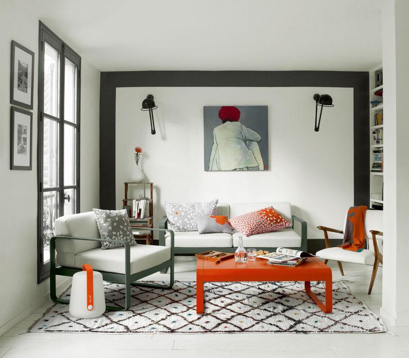 lampe sans fil balad led h 38 cm recharge usb verveine fermob. Black Bedroom Furniture Sets. Home Design Ideas