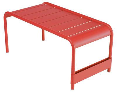 Foto Tavolino Luxembourg - L 86 cm di Fermob - Papavero - Metallo