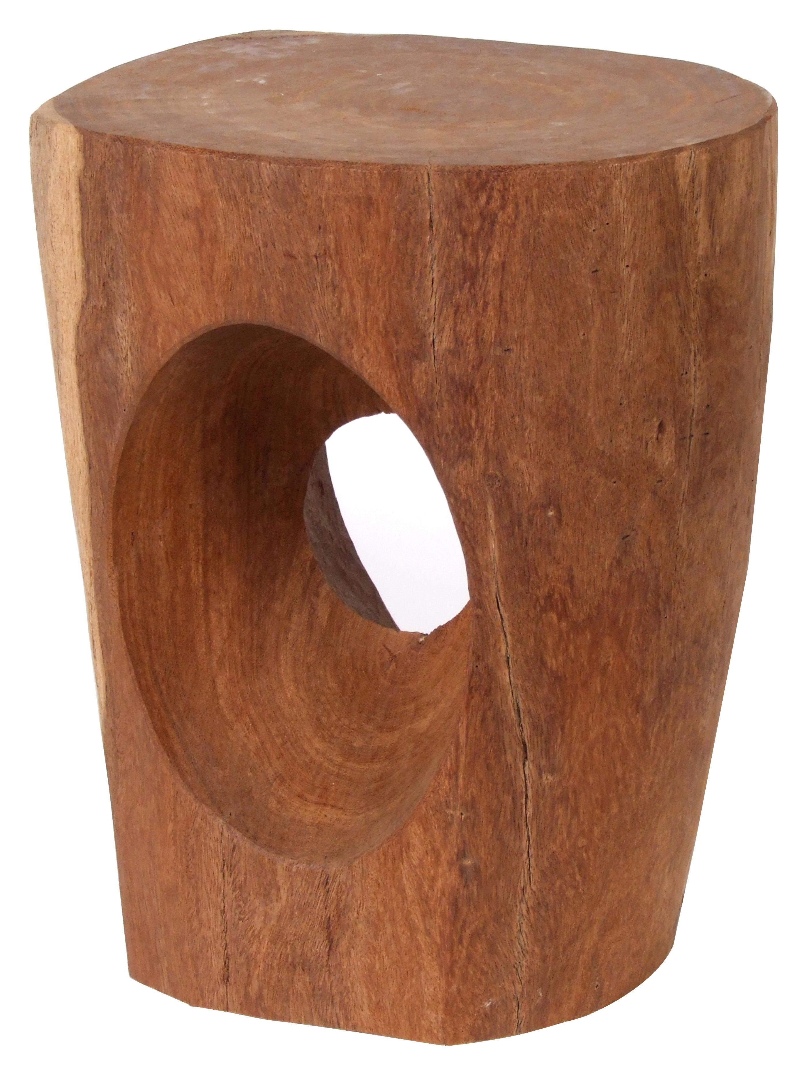 devil 39 s eye stool natural wood by pols potten. Black Bedroom Furniture Sets. Home Design Ideas