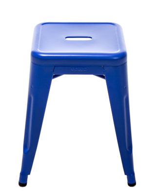 h stackable stool outremer blue 59 by tolix. Black Bedroom Furniture Sets. Home Design Ideas