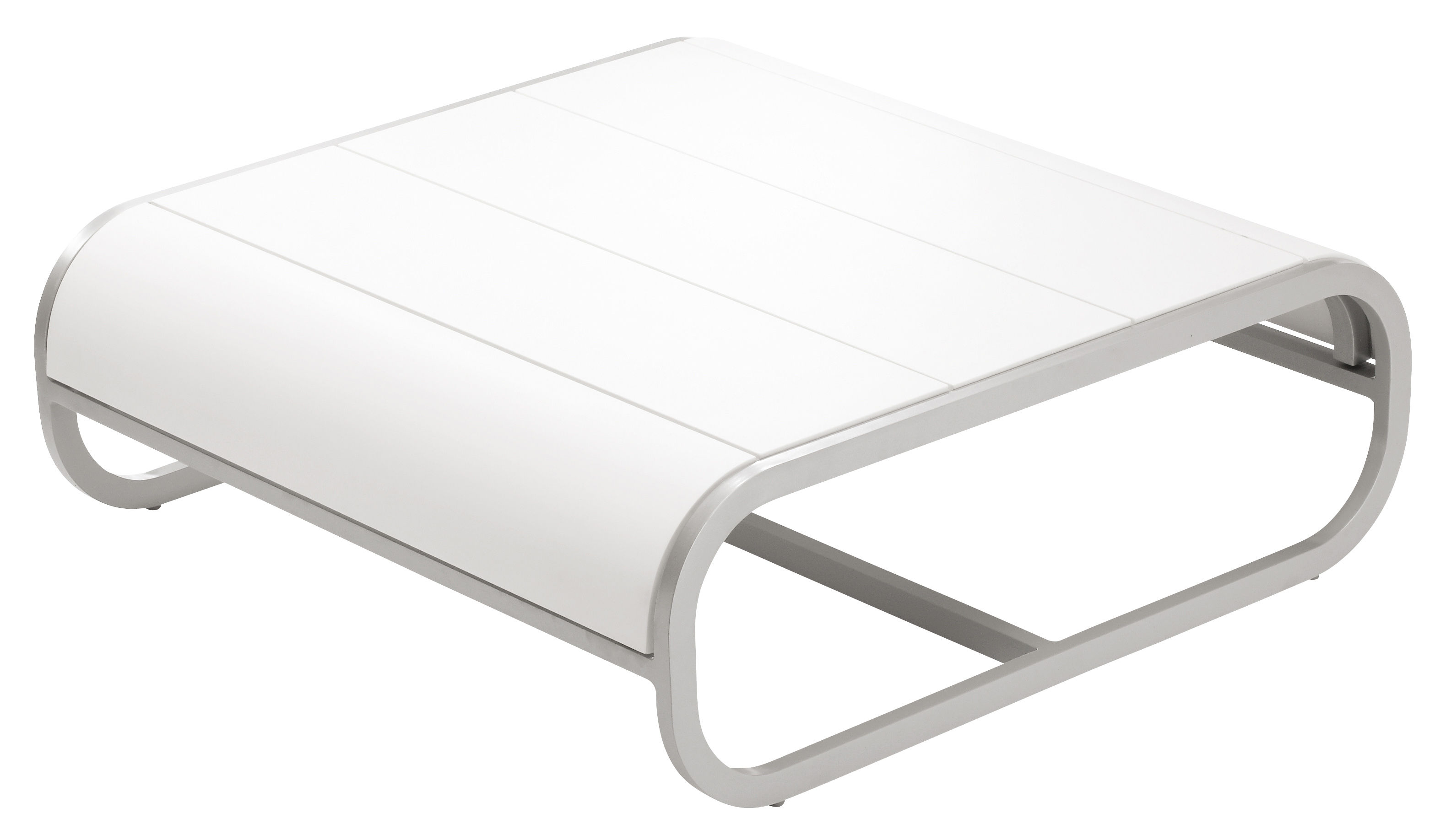 Tandem Coffee Table Corian Version White Corian By Ego