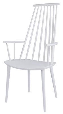 Foto Poltrona J 110 Chair di Hay - Bianco - Legno