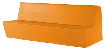 Foto Divano bimbi Minus Primary Quattro - 4 posti di Quinze & Milan - Arancione - Materiale plastico