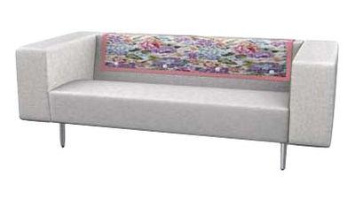 canap droit bottoni 2 places l 170 cm beige moooi. Black Bedroom Furniture Sets. Home Design Ideas