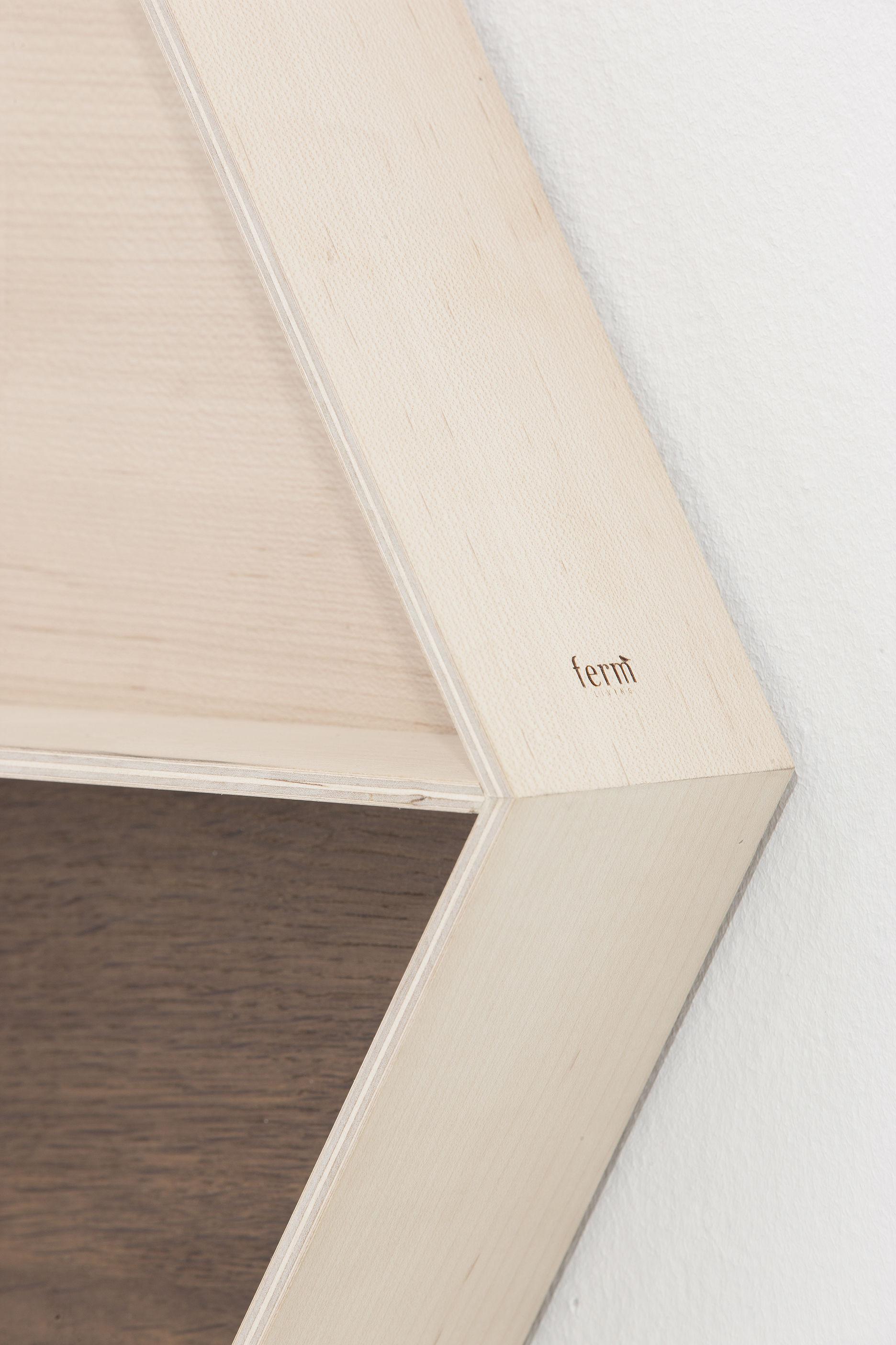 wall wonder regal 60 x 50 cm ferm living spiegel. Black Bedroom Furniture Sets. Home Design Ideas