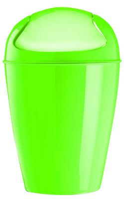 Pattumiera del xs xs 2 litri di koziol verde erba materiale plastico