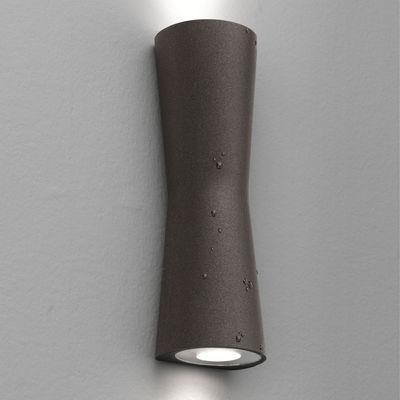 Foto Applique Clessidra 40° - LED - interno / esterno di Flos - Marrone - Metallo