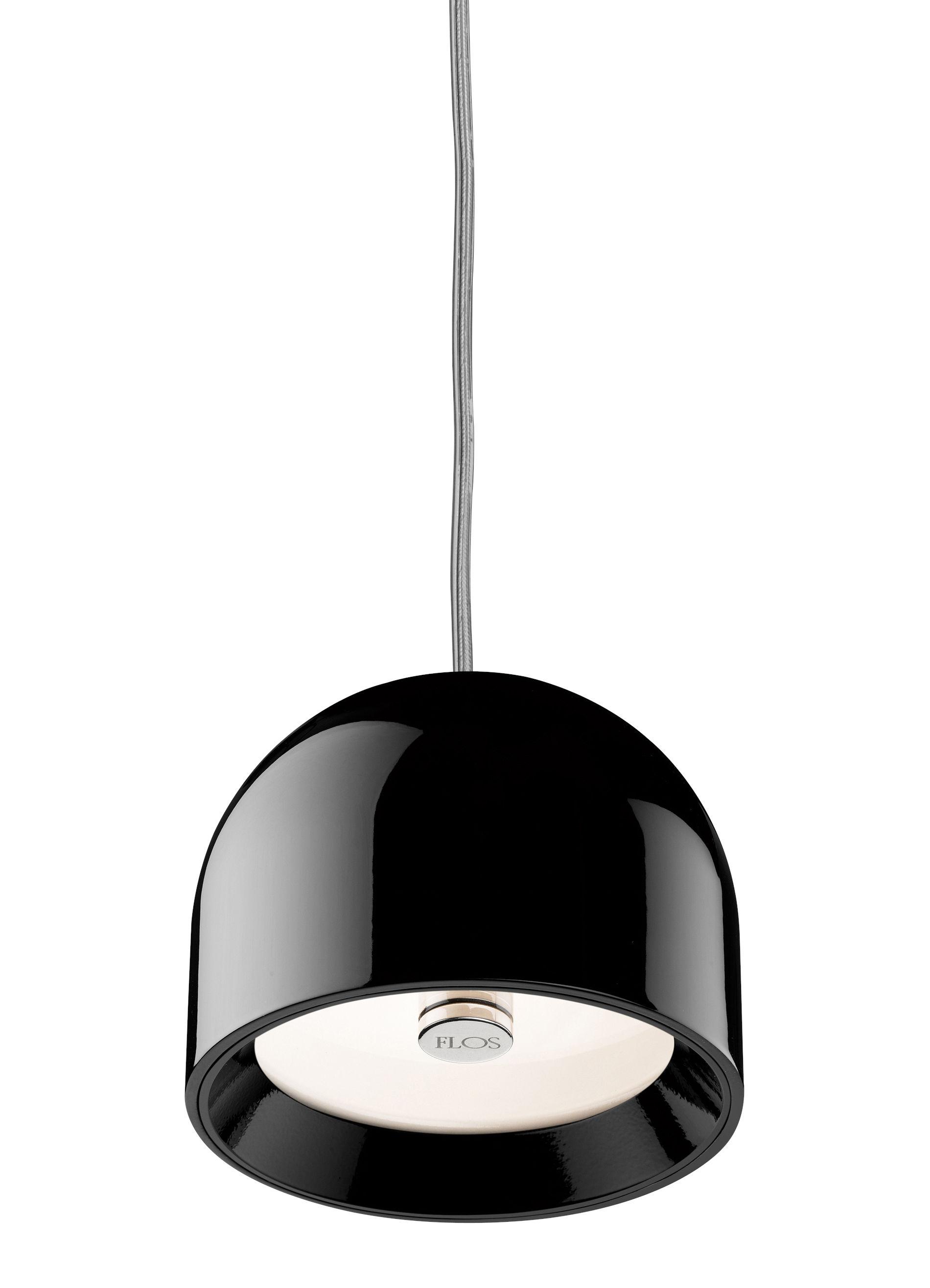 Suspension wan noir flos for Flos lampade a sospensione
