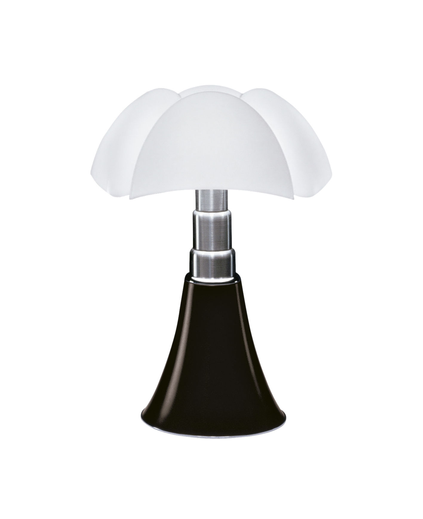 Lampe de table minipipistrello led h 35 cm marron fonc martinelli luce - Table pour lampe de salon ...