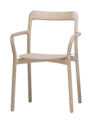 Fauteuil empilable branca bois fr ne naturel mattiazzi - Semaine du mobilier chez made in design jusqua ...