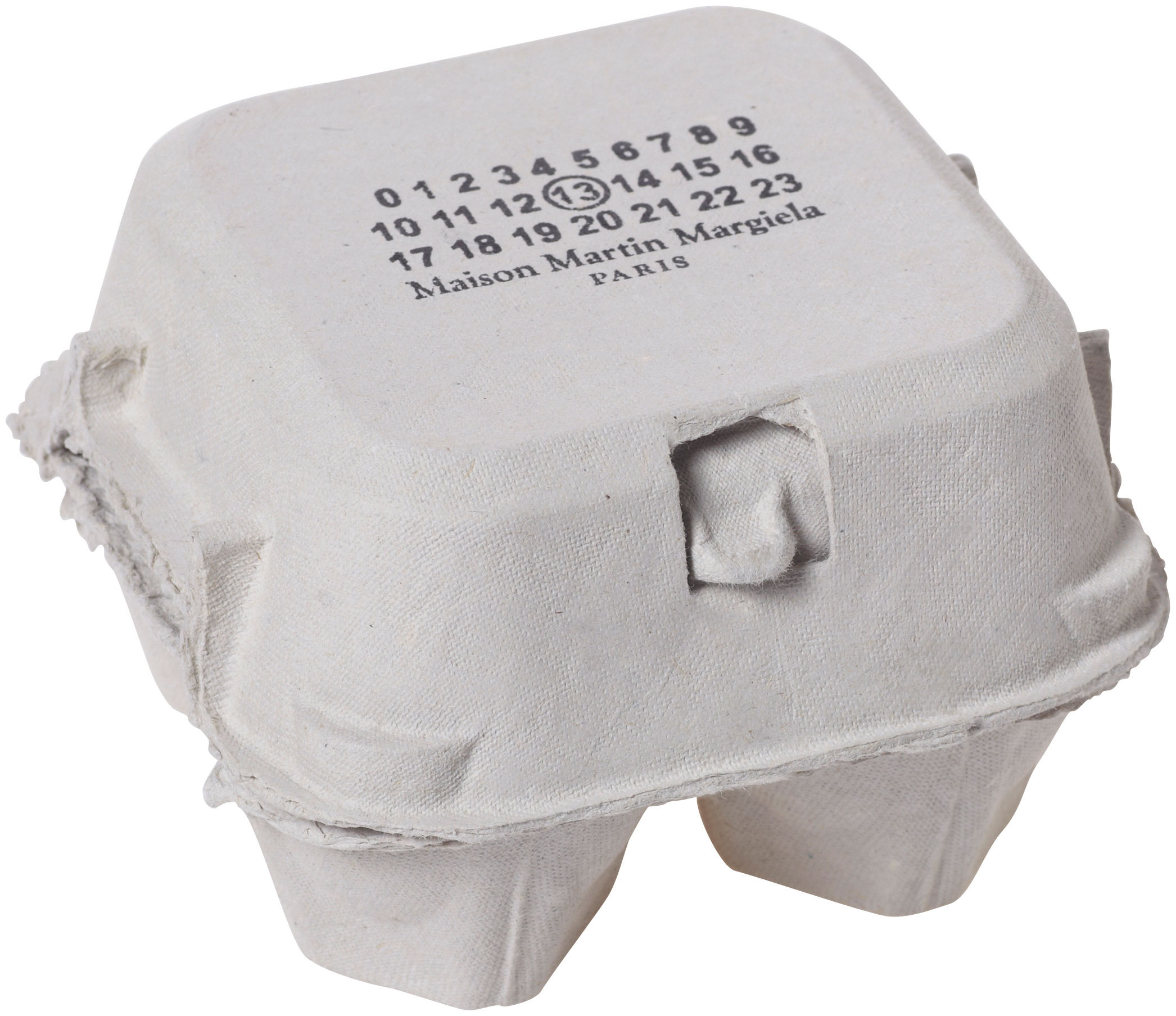 Fortune egg box white by maison martin margiela for Maison martin margiela