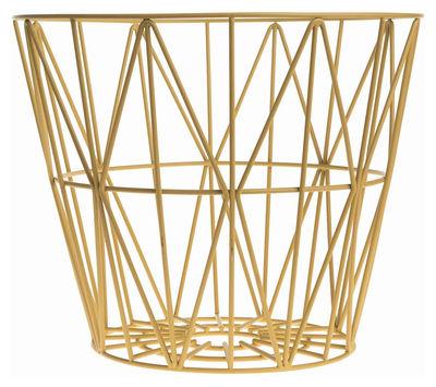 wire medium 50 x h 40 cm ferm living korb. Black Bedroom Furniture Sets. Home Design Ideas