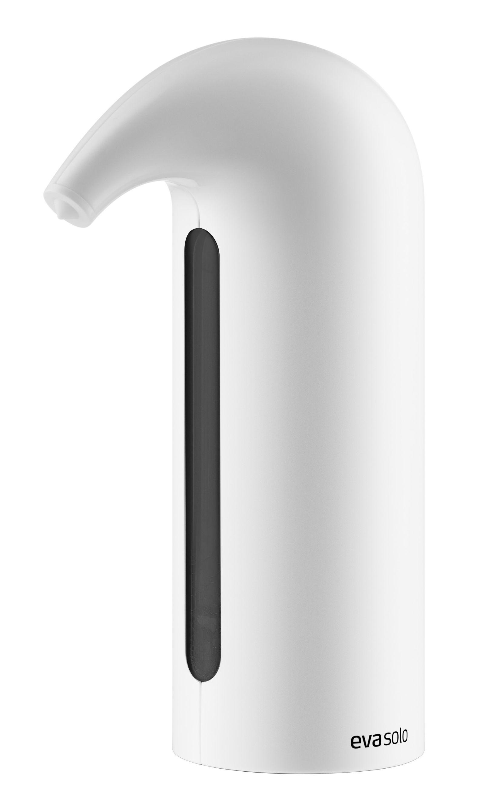 distributeur de savon automatique capteur infrarouge blanc eva solo. Black Bedroom Furniture Sets. Home Design Ideas