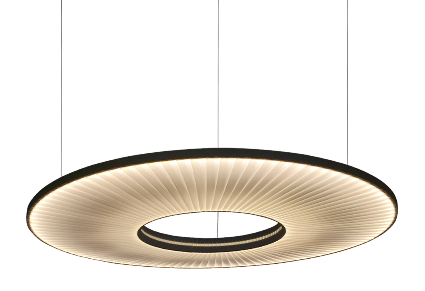iris pendant 60 cm led horizontal two sided. Black Bedroom Furniture Sets. Home Design Ideas