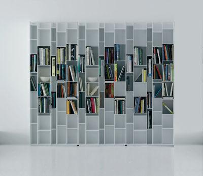 Biblioth que random blanc laqu mdf italia - Mdf italia ...
