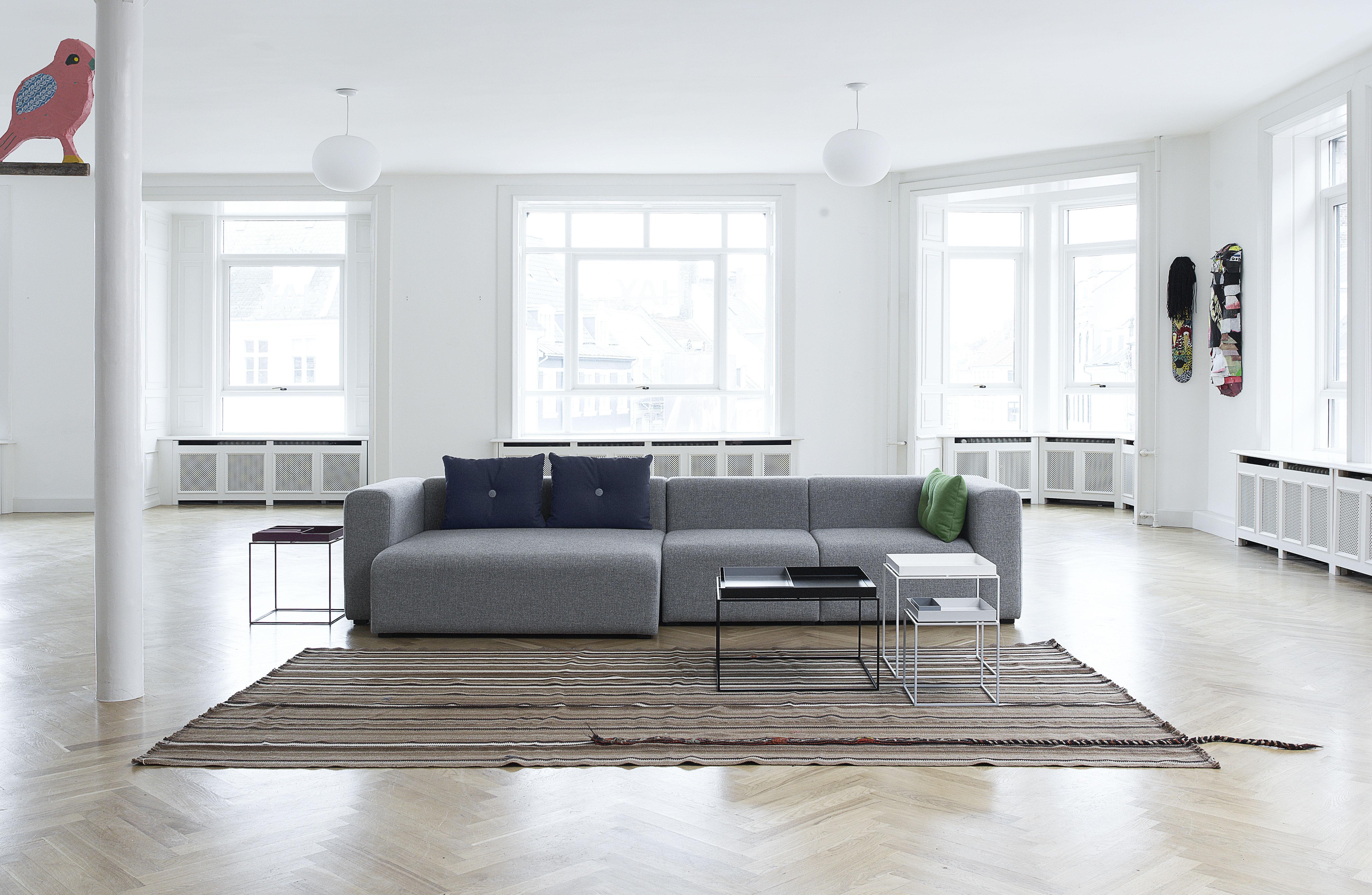tray couchtisch h 50 cm 60 x 40 cm hay wei ebay. Black Bedroom Furniture Sets. Home Design Ideas