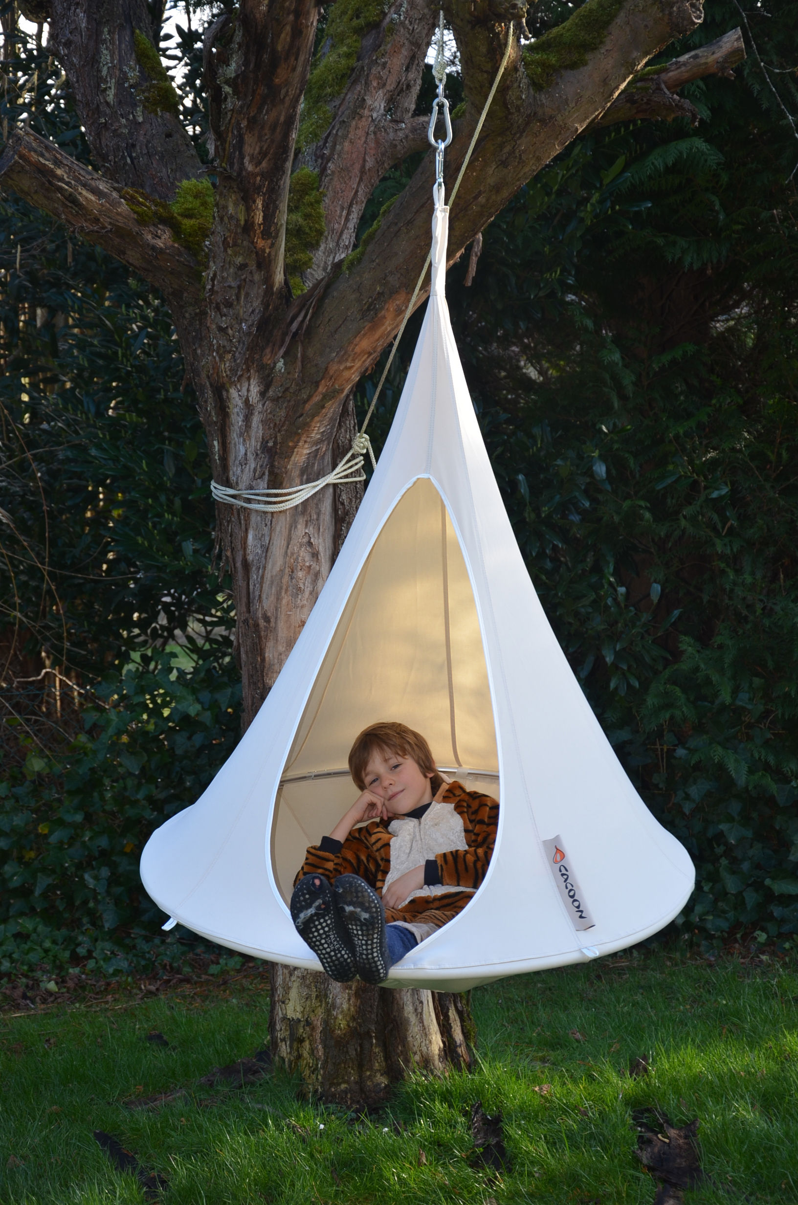 Bonsai Hanging Armchair 216 120 Cm For Children Taupe By