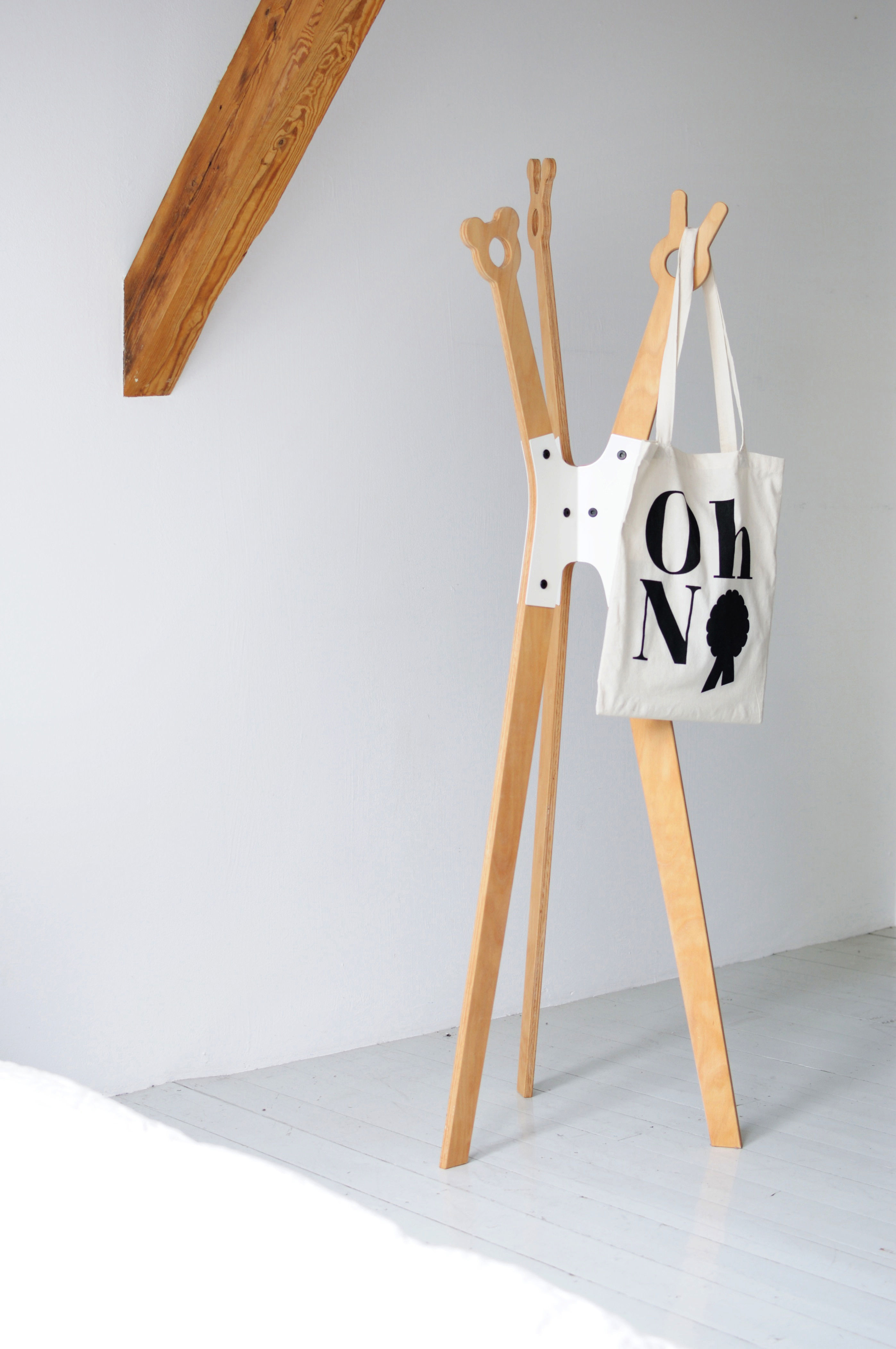 Mantelb children coat rack blue white metal by Kids coat rack