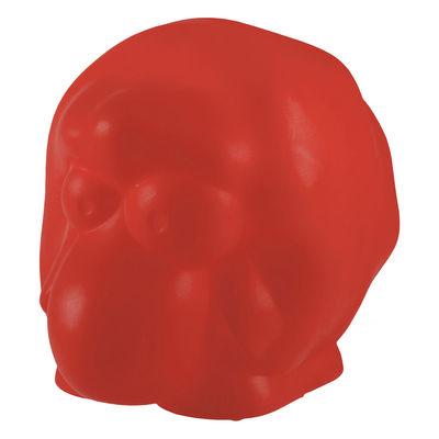 Foto Lampada da ambiente Rina / Pecora luminosa - Rosso - Materiale plastico Slide Lampada d'atmosfera