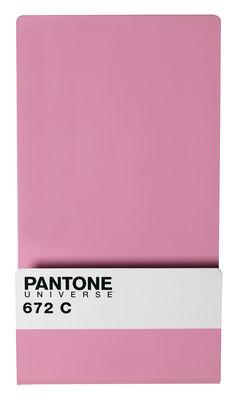 Foto Portariviste Pantone - lavagna magnetica con 6 magneti di Seletti - Lavanda pastello 672C - Metallo