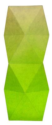 Lampe de table Tower / LED - H 27 cm - Pa Design Vert pâle,Vert vif en Papier