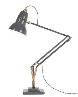 Lampe de table Original 1227 Laiton - Anglepoise Laiton,Gris éléphant en Métal