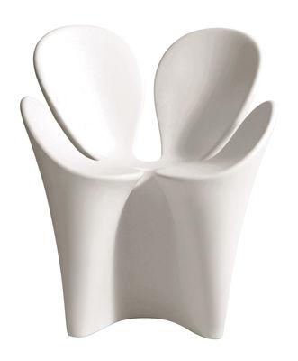 Foto Poltrona Clover di Driade - Bianco - Materiale plastico