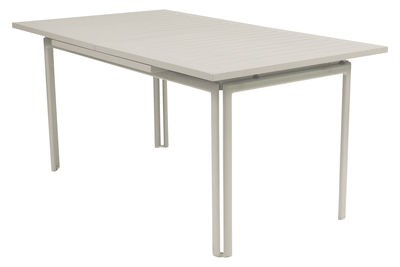 Foto Tavolo con prolunga Costa - Con prolunga di Fermob - Lino - Metallo