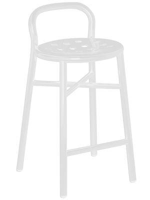 Foto Sgabello bar Pipe - h 67 cm di Magis - Bianco - Metallo