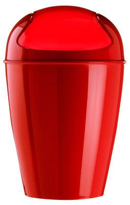 Pattumiera del s s 5 litri di koziol fragola materiale plastico