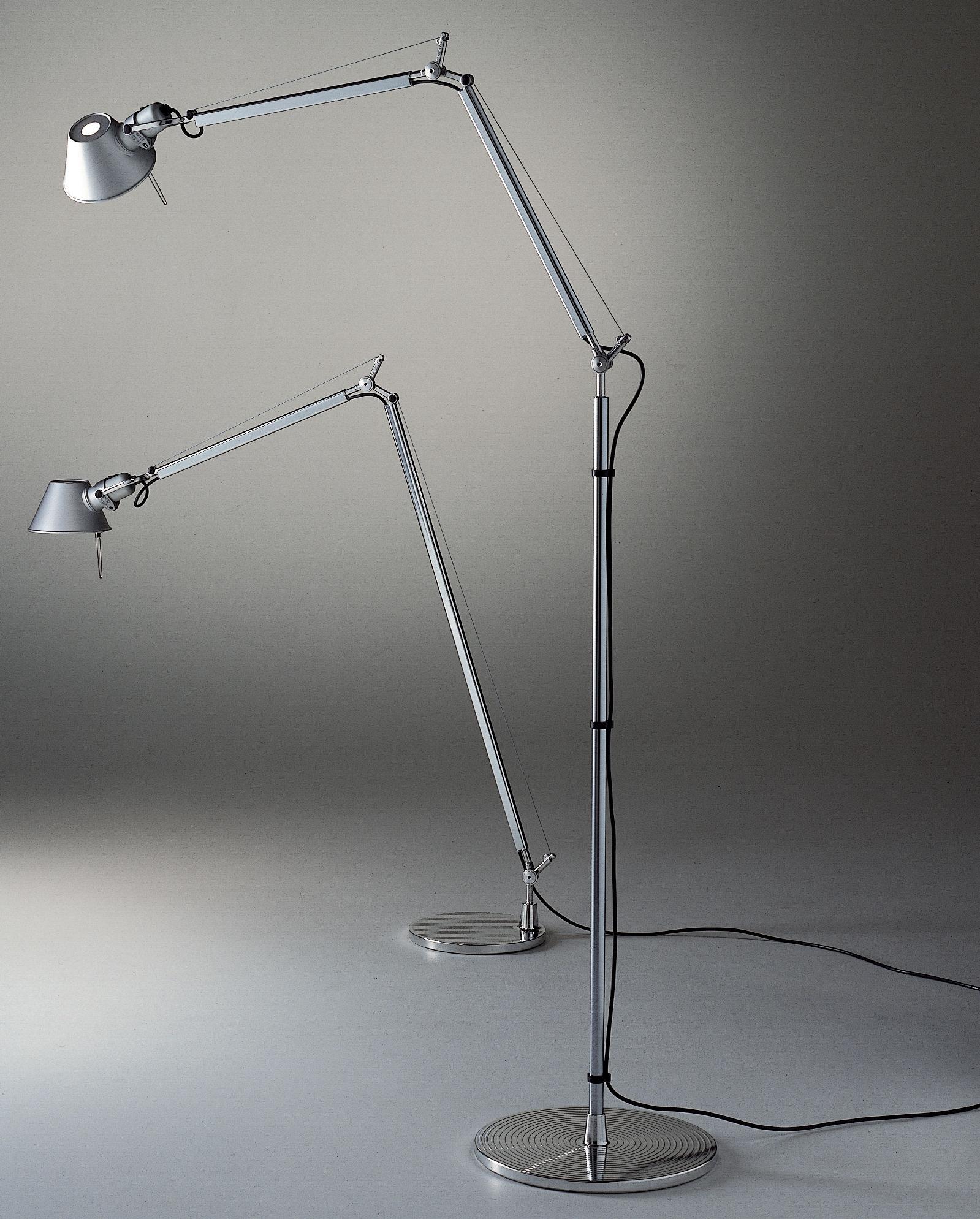 tolomeo floor lamp aluminium by artemide. Black Bedroom Furniture Sets. Home Design Ideas