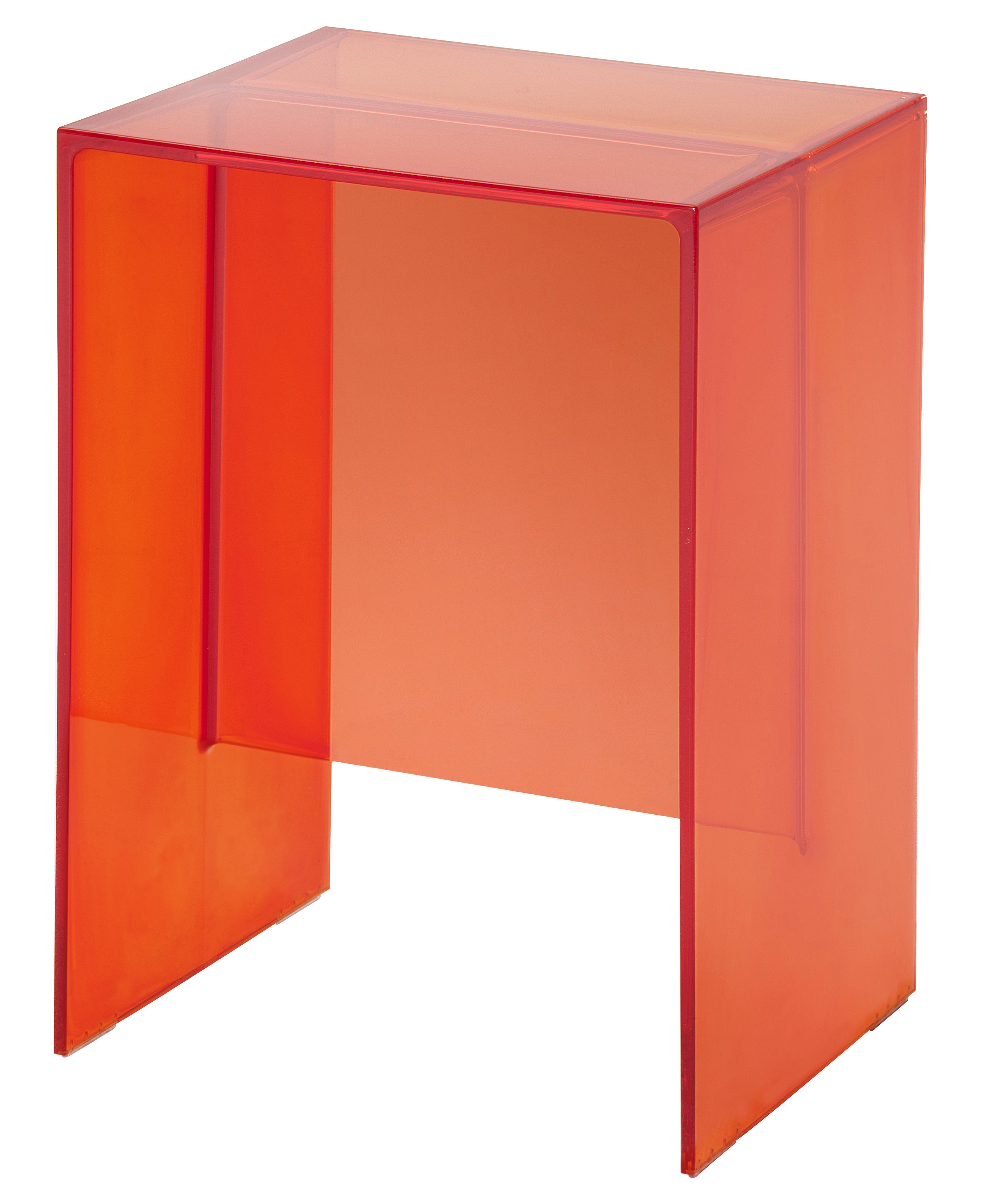 max beam supplement table tangerine orange by kartell. Black Bedroom Furniture Sets. Home Design Ideas