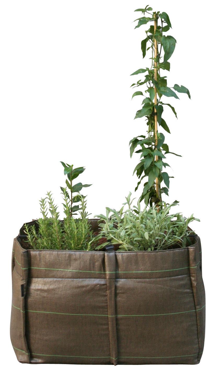 jardini re baclong geotextile outdoor 70 l bacsac marron. Black Bedroom Furniture Sets. Home Design Ideas