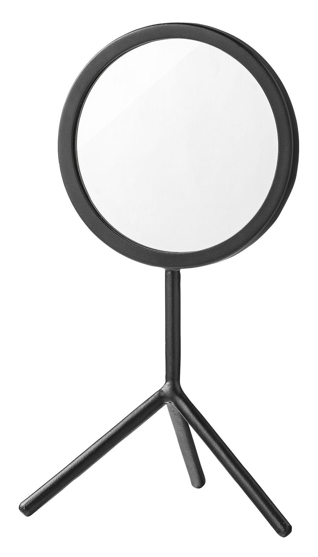 miroir tripod a poser h 36 cm noir bloomingville ForMiroir Tripod